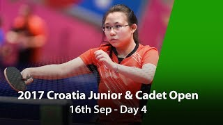 2017 ITTF Croatia Junior & Cadet Open - Day 4 thumbnail