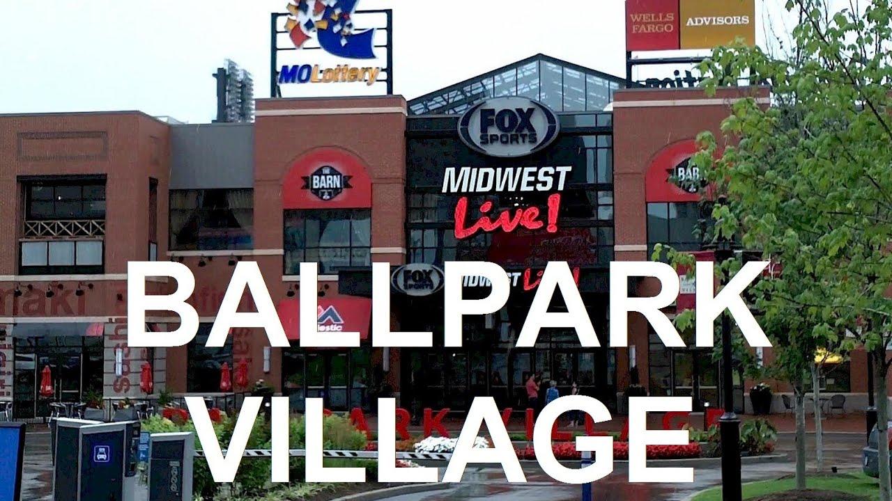 St Louis Cardinals Ballpark Village Tour Att Rooftop Seating