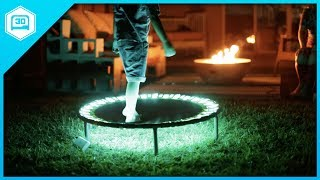 DIY LED Trampoline // NeoPixels and Circuit Python