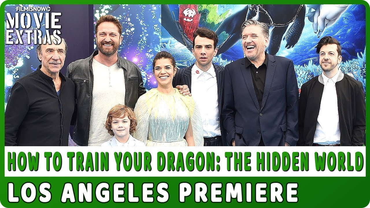 HOW TO TRAIN YOUR DRAGON: THE HIDDEN WORLD | LA Premiere