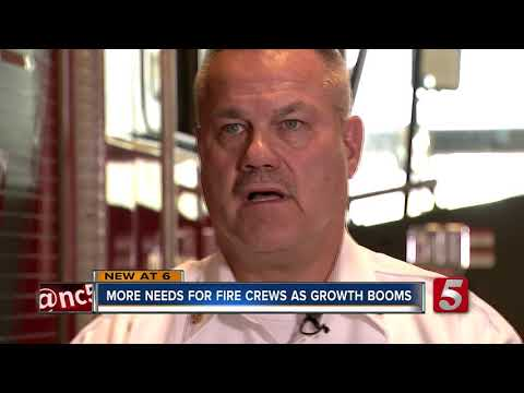 County Chief Wants More Volunteers, Fire Stations As Population Grows