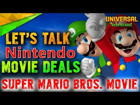 Universal & Nintendo discuss Super Mario Bros Movie - Universal Studios News 12/13/2017