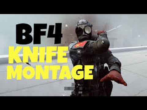 Battlefield 4 - Knife Compilation