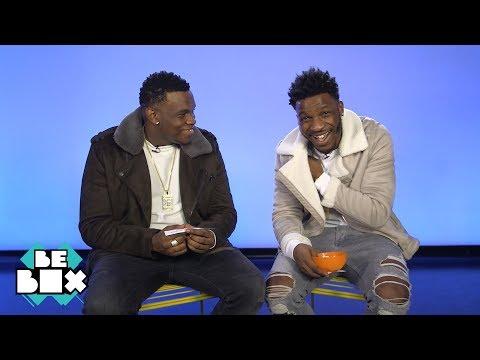 Lotto Boyzz discuss the aubergine emoji I BeBoxMusic