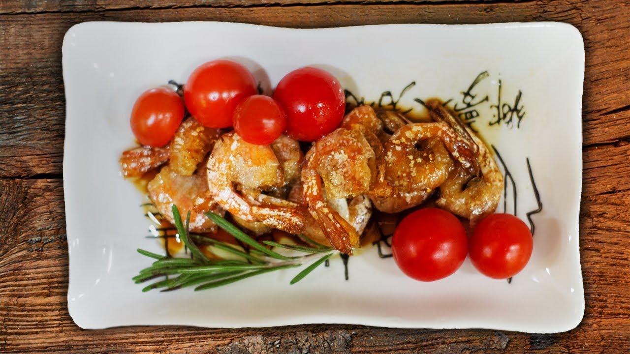 Креветки в соусе терияки | Китайская кухня | Пожрать шоу