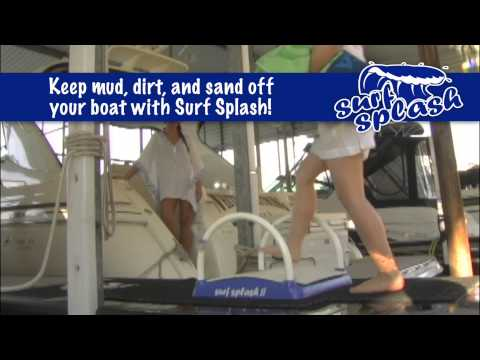Keep Your Boat Deck Clean with a Foot Showe | Surf Splash
