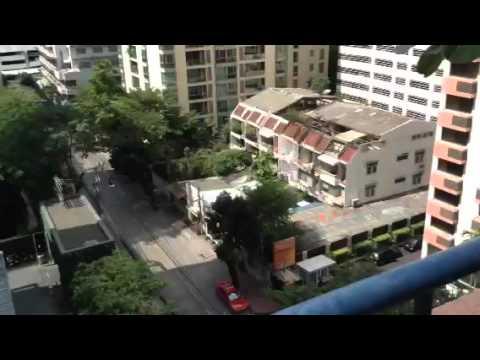 At Siri Sathorn Executive Serviced Suites, Bangkok, Thailand