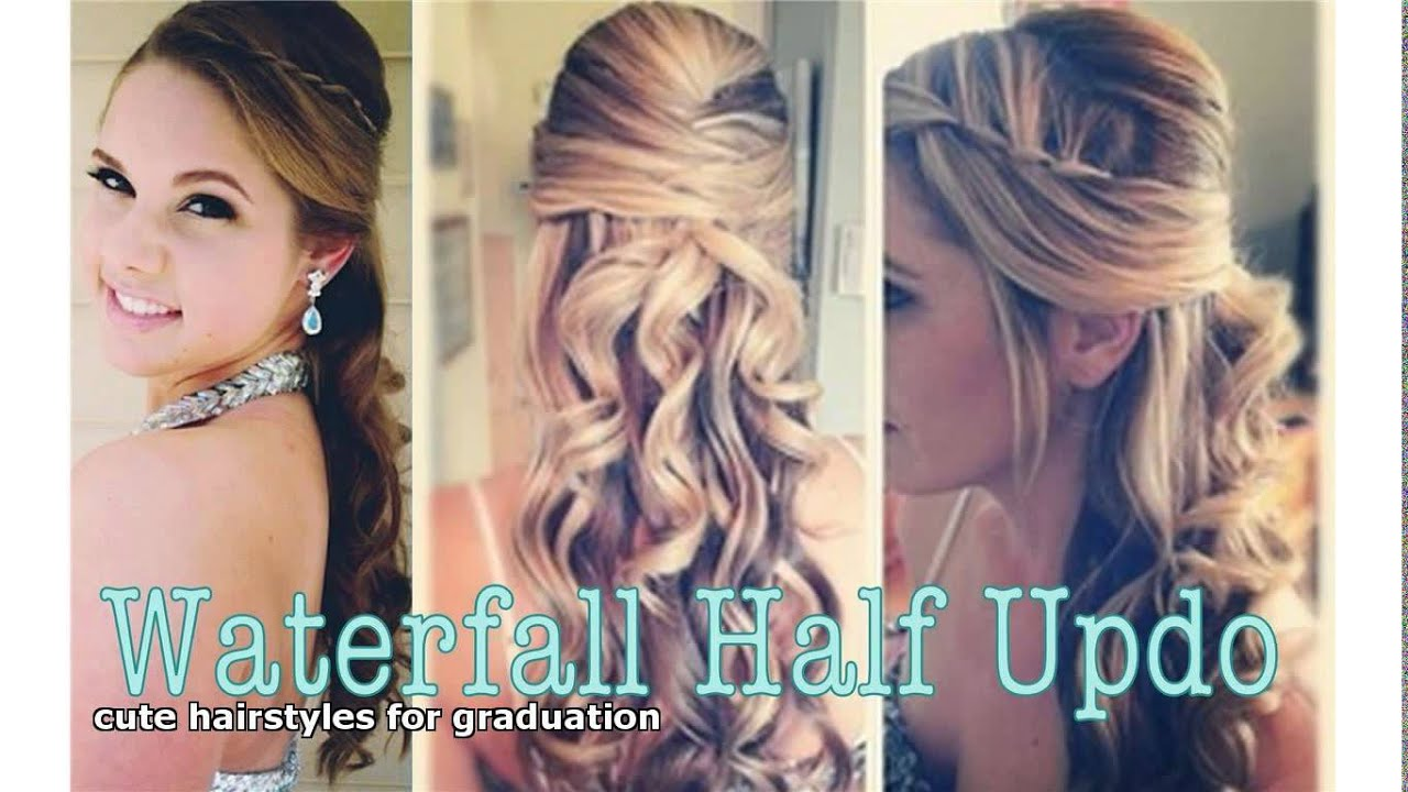 cute hairstyles for graduation - Cute Hairstyles For Graduation - YouTube
