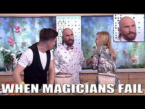 Magician Get's Online Hate For Accidentally Impaling TV Host