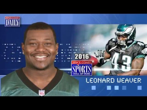 Leonard Weaver: Space Coast Sports Hall of Fame 2016