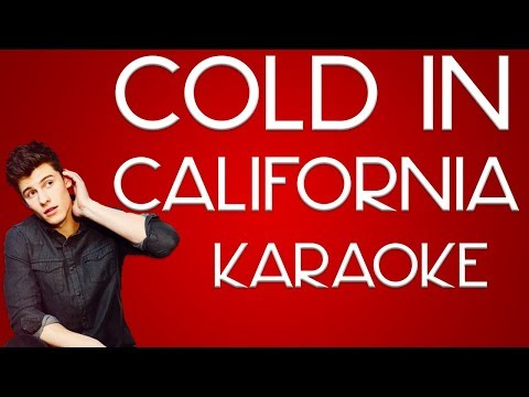 Shawn Mendes  Cold in California karaoke
