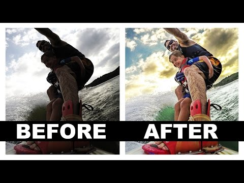 Creating an Amazing GoPro Shot: A Photoshop Tutorial and Workflow
