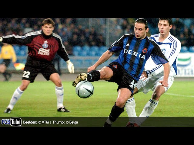 2004-2005 - UEFA-Cup - 03. Groep C Match 1 - Dnipro Dnipropetrovsk - Club Brugge 3-2