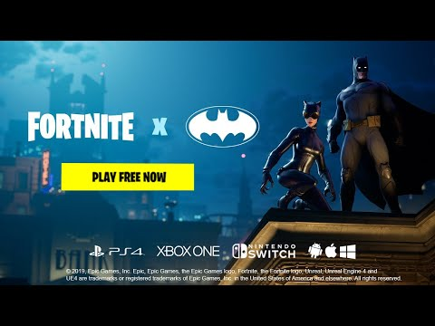 Fortnite X Batman Reveal [HD]