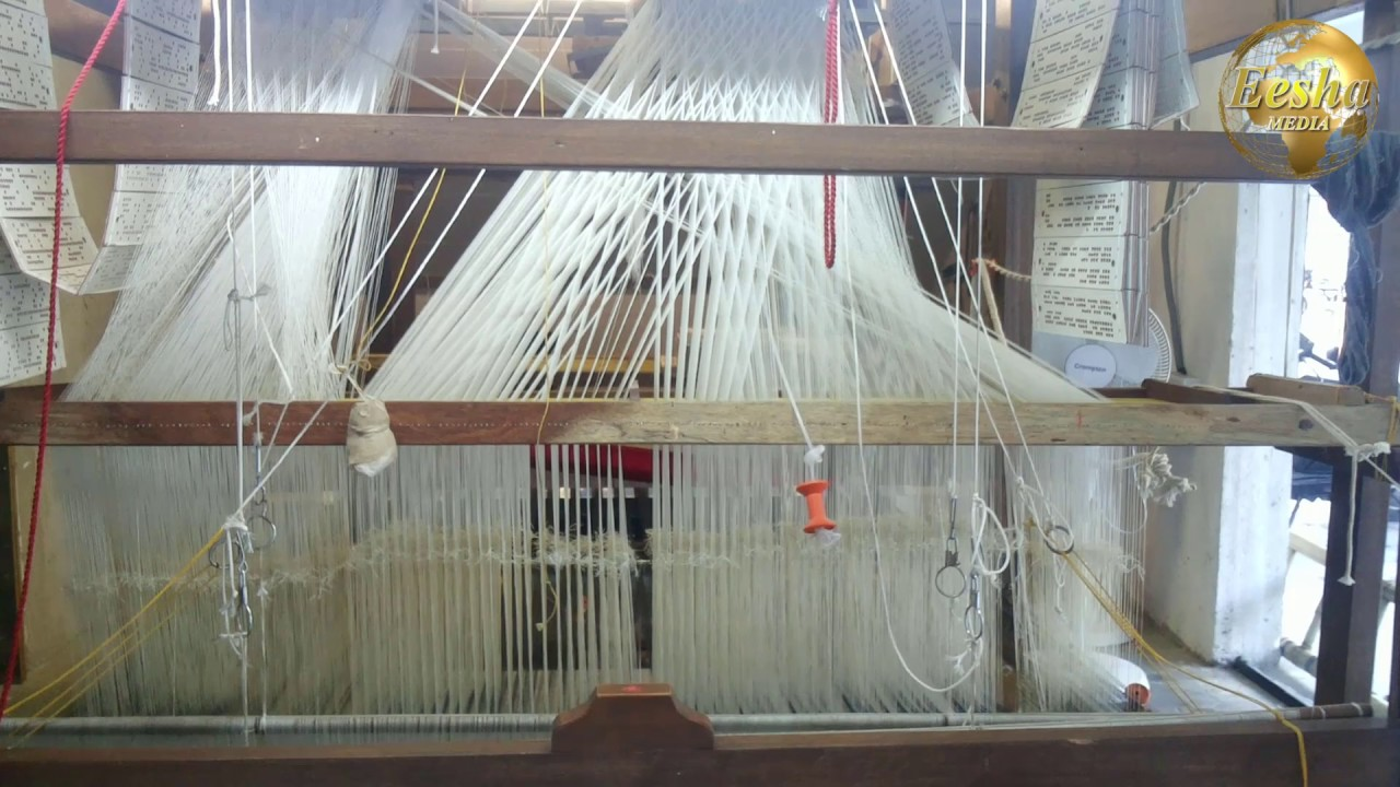 KANCHIPURAM HANDLOOM SILK SAREE WEAVING MACHINE IN HYDERABAD