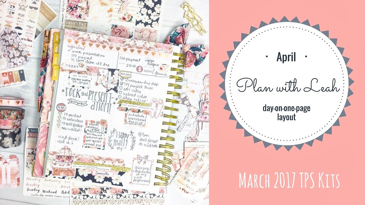 graphic about Daydesigner referred to as Method With Me Working day Designer Design feat. The Planner Lifestyle