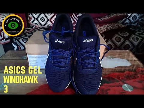 Asics Gel Windhawk 3   Running Shoes - YouTube