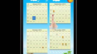 50 States US Calendar HD for iPad