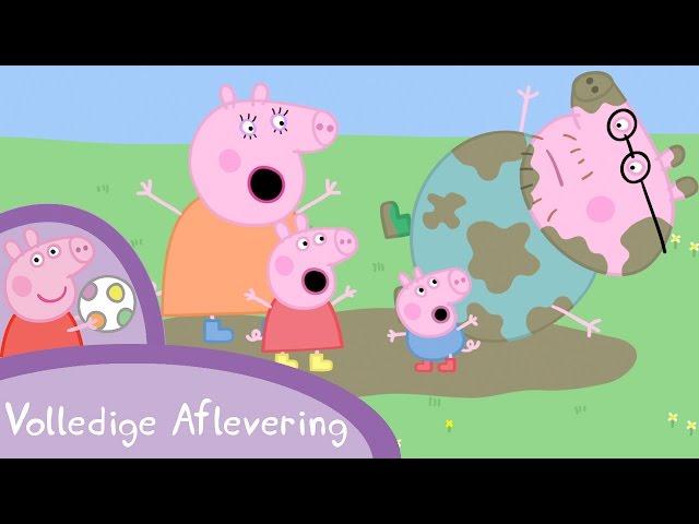 Peppa Pig Nederlands Compilatie Nieuwe Afleveringen | Modderpoelen | Tekenfilm | Peppa de Big