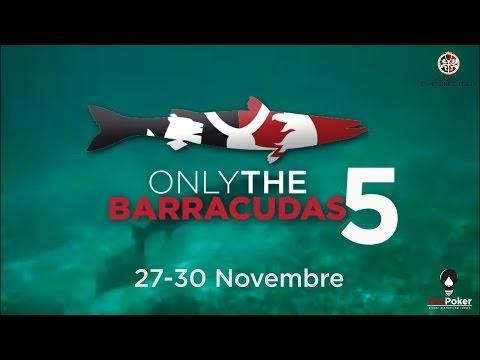 """Only The Barracudas 5"" - Day 1C @ Casinò Campione"
