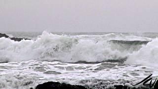 Beauty Of Seashore - Oregon Pacific Coast at Cannon Beach
