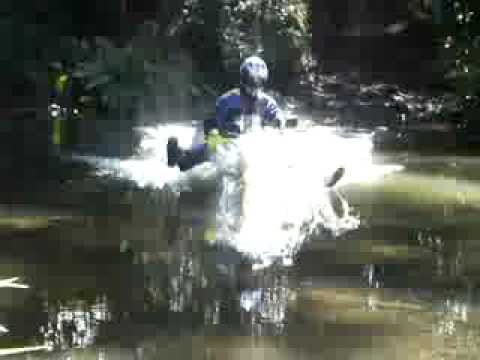 Suzuki dr650 creek crossing