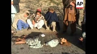 Bullet-riddled bodies of 2 men found in restive tribal region