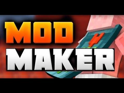 minecraft mod maker no download