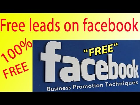 How to generate Facebook leads free of cost  in Hindi | How To Generate Leads