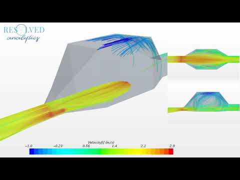 CFD Simulation of Diffuser without Perforated Plates