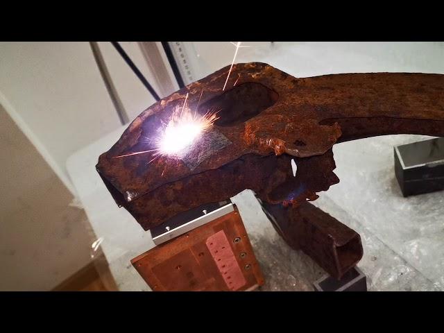 200W laser rust removal machine