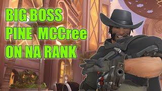 Pine Legend Hitscan Showing His Mccree Skills - TOP 500 Overwatch Season 20