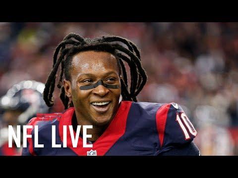 Houston Texans Spending Big Money On DeAndre Hopkins With New Contract   NFL Live   ESPN