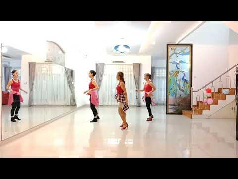 Dance Tonight - line dance ( Demo & Tutorial )