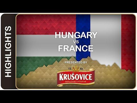 Hungary still winless despite a strong start - Hungary-France HL - #IIHFWorlds 2016 - 동영상