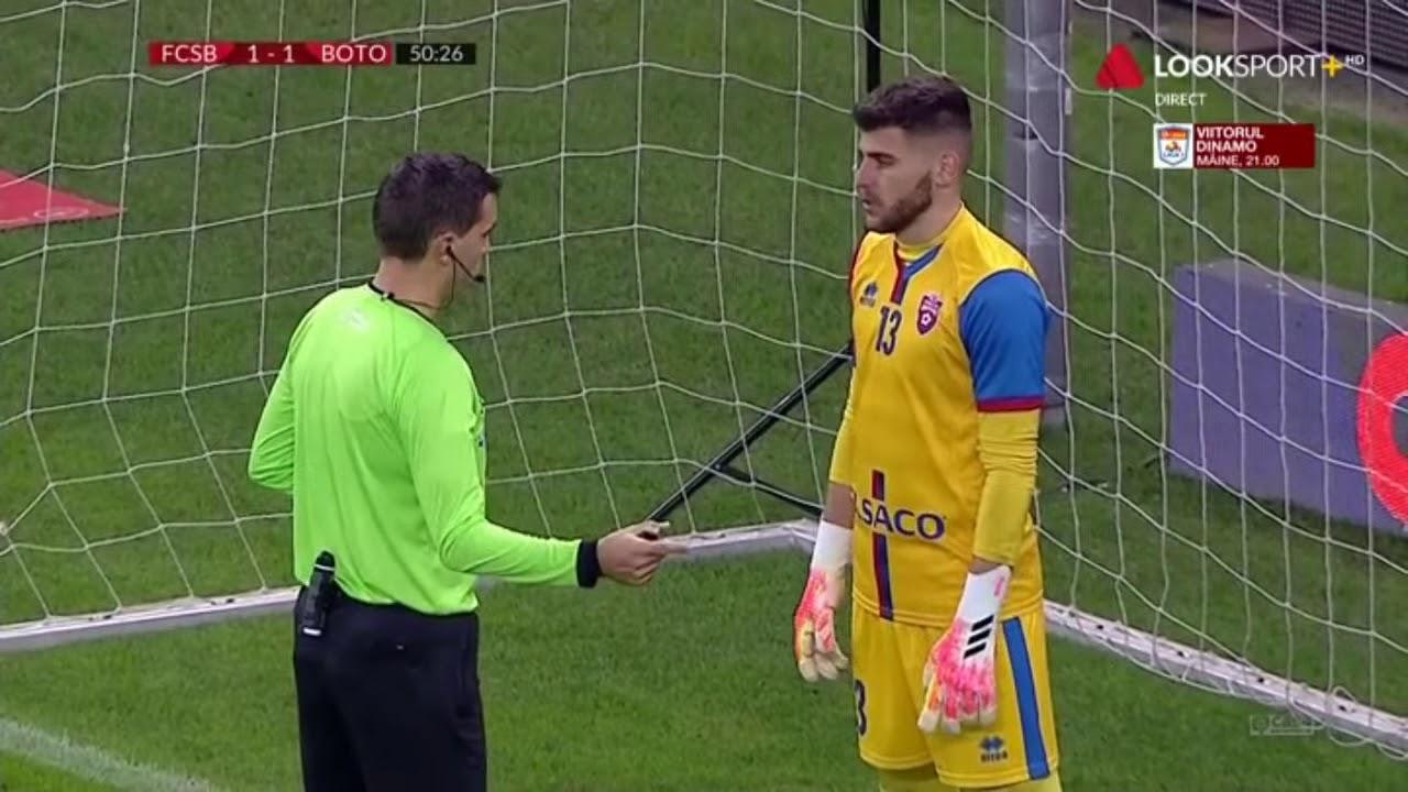GOOOL! FCSB - Botoșani 2-1. Florin Tănase transformă penalty-ul obținut de Moruțan