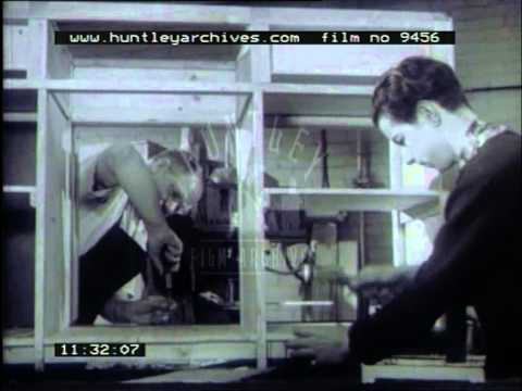 Rehabilitation programme, 1950's - Film 9456