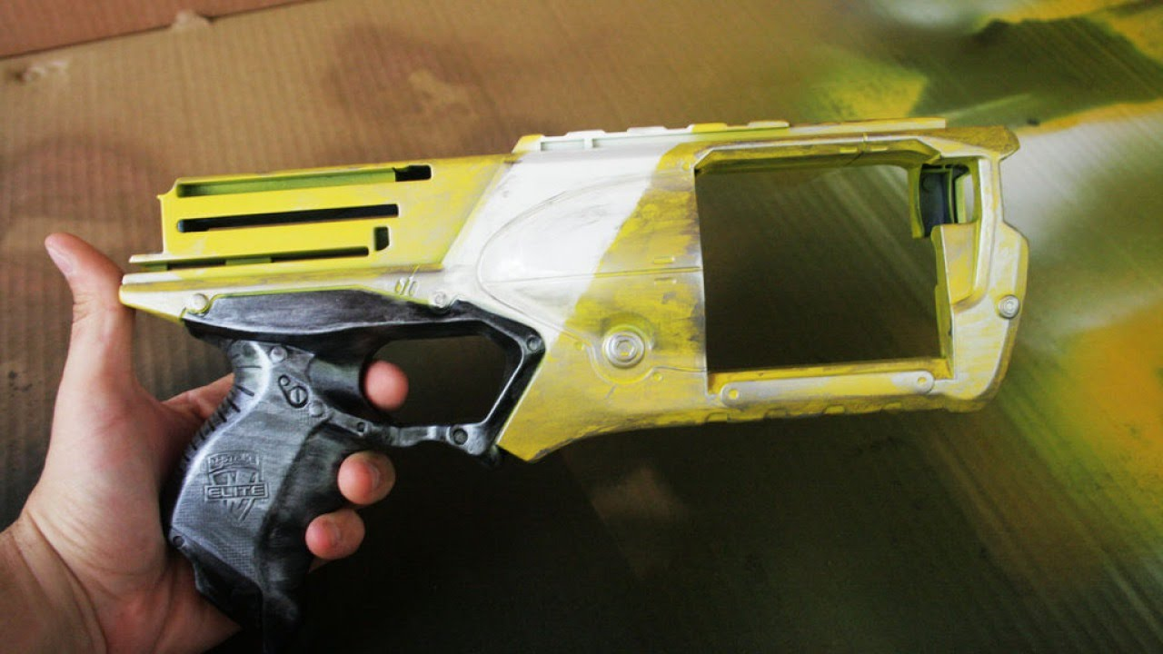 How To Turn A Nerf Gun Into A Cosplay Replica Diy Crafts Tutorial