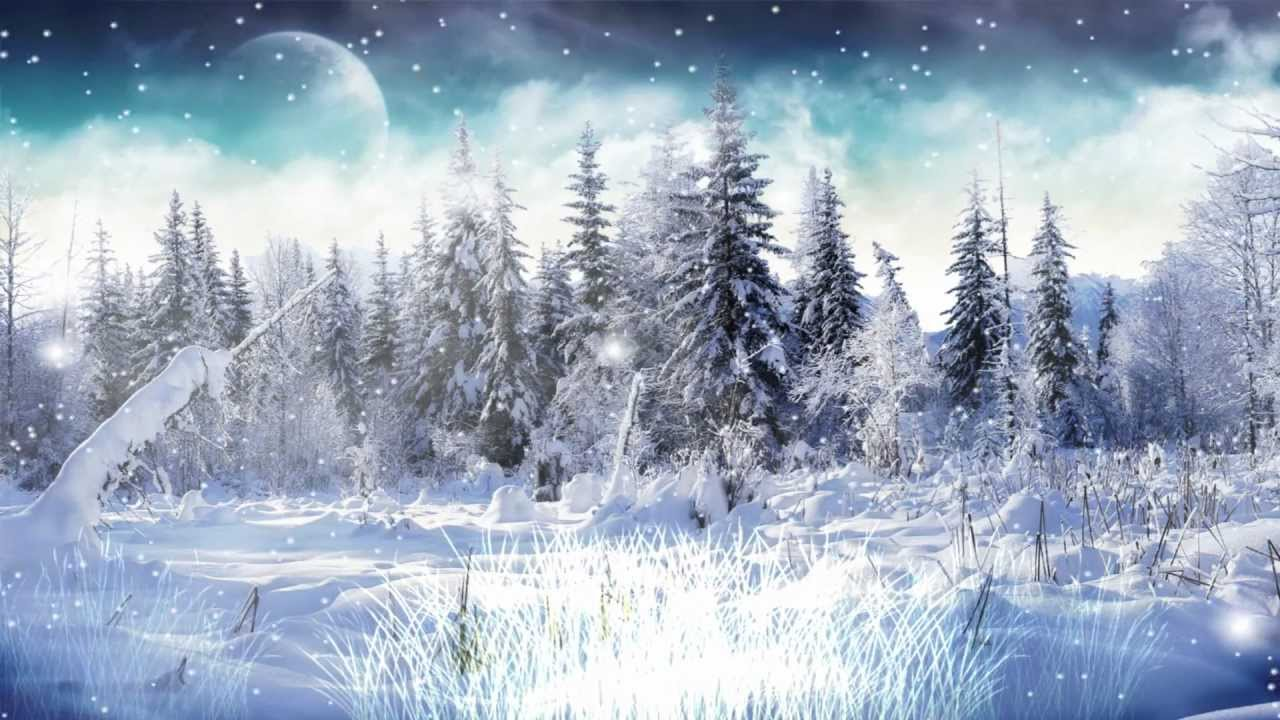 Winter Snow Animated Wallpaper http://www.desktopanimated.com - YouTube