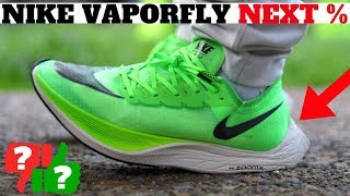 Nike ZoomX Vaporfly Next% Review Worth