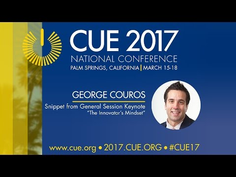 CUE 2017 Keynote highlight: George Couros