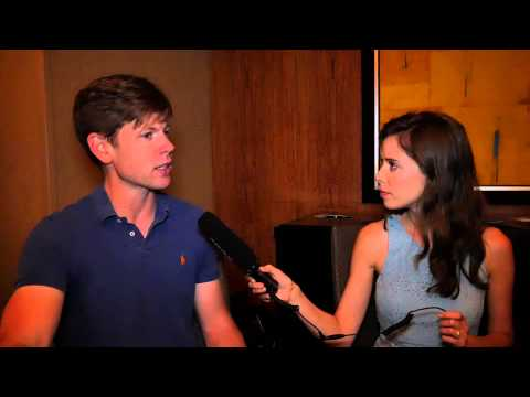 Interview with author Christopher Rice at ThrillerFest 2014!