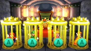 Mario Party The Top 100 MiniGames - Mario Vs Peach Vs Luigi Vs Yoshi (Master Difficulty)