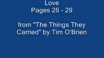 tim obriens the things they carried an examination of what they carried and why essay