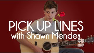 Shawn Mendes Gives His Best Pickup Lines | Hey Girl