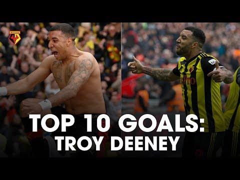 TOP 🔟 GOALS | TROY DEENEY