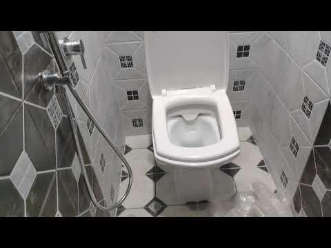 Ремонт обычной ванной комнаты и туалета.