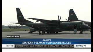 Jenazah Ani Yudhoyono Dijemput Pesawat VVIP dan Hercules di Singapura