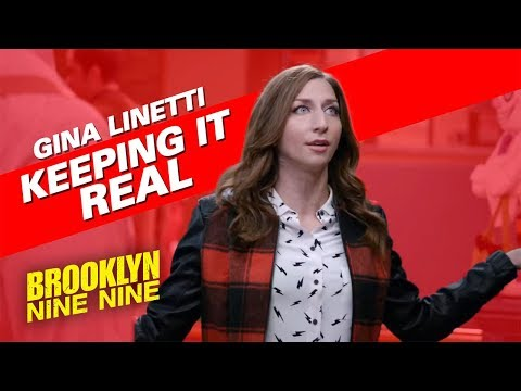 Gina Linetti Keeping It Real | Brooklyn Nine-Nine - YouTube