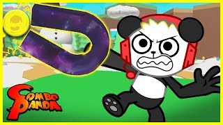 MYTHICAL EGG MAGNET ! Roblox Magnet Simulator Let's Play with Combo Panda